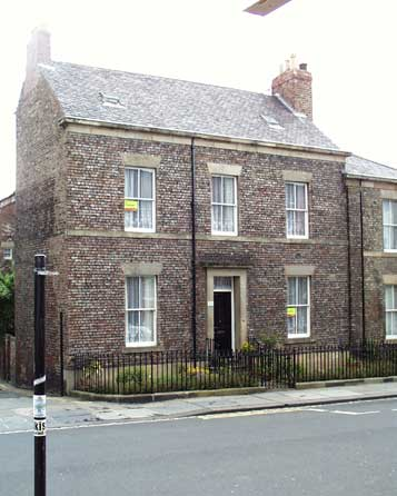 T. Thomas' Crescent, town house