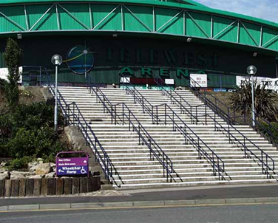 Newcastle Arena entrance